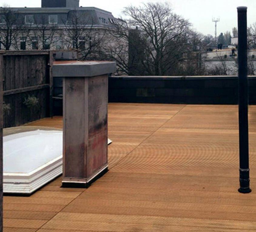Dachterrasse mit Ausblick